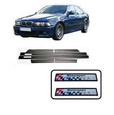 BMW 5 series E39 saloon touring M sport M5 black side door mouldings trims set
