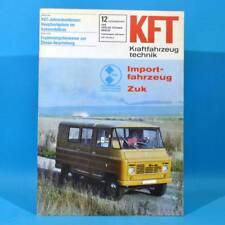 DDR KfT Kraftfahrzeugtechnik 12 1978 Zuk Citroen Visa Mercedes T-Reihe Mustan 62