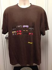VINTAGE OAKLEY SUNGLASSES T SHIRT XL