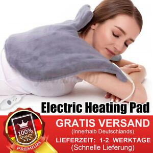 Elektrische Heizkissen Wärmekissen Heizdecke Heizmatte Rückenwärme Nacken Rücken
