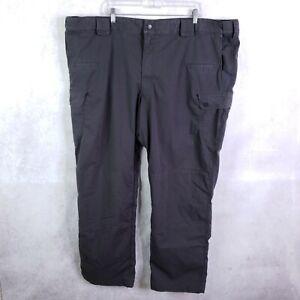 5.11 Tactical Men's Stryke Pant With Flex, Ripstop Cargo Pants, Sz 50 Dark Gray