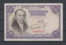 EDIFIL 450a.  25 PTAS 19 DE FEBRERO DE 1946. FLOREZ ESTRADA
