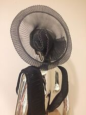 Kentucky Derby Vintage Pinup Drag Queen Burlesque Stage Church Showgirl Hat