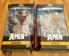 Marvel Legends X-Men Age of Apocalypse JEAN GREY & SUNFIRE lot Sugar Man BAF NEW