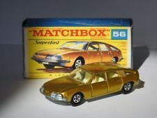 MATCHBOX LESNEY SUPERFAST VINTAGE BMC 1800 PININFARINA No.56 MINT IN F2 BOX 1969