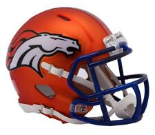 Denver Broncos NFL Replica Speed Mini Helmet - Blaze Alternate