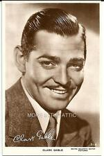 YOUNG HANDSOME CLARK GABLE ORIGINAL VINTAGE UK ISSUED RPPC UNUSED #7