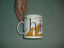 Starbucks Coffee City Mug Collector Series 1994 Chicago Cup Mug