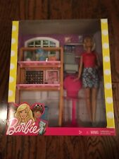 """Study Hard-Dream Big"" Barbie-Study Printer, Desk,Chair,Laptop Accessories NIB"