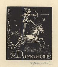 Ex Libris Willem Jacob Rozendaal : E.J. Dijksterhuis