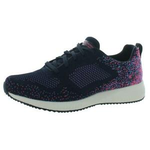 Skechers Womens Bobs Squad Awesome Sauce Knit Running Shoes Sneakers BHFO 0844