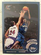 2002-03 Topps #10 Michael Jordan Washington Wizards Last Season Mint HOF GOAT