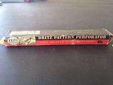 Vintage Dritz Pattern Perforator Sewing Crafts USA