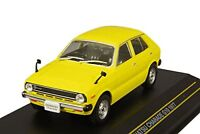 First43 1/43 Daihatsu Charade G10 1977 Yellow Diecast Model F43-082