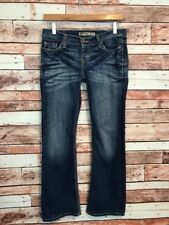 Bke Womens Jeans Lexi Stretch Bootcut Size 27 Distressed