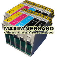 10 Patronen für Epson T1291 T1292 T1293 T1294 T1295 Blau Rot Gelb Black NEU