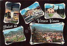 Cartolina - Vittorio Veneto - vedutine - 50° Vittoria - Timbro filatelico - 1968