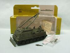 Roco Minitanks - BERGEPS BgPz M88 Char Tank réf. 232 militaire NBO HO 1/87