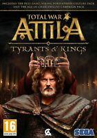Total War Attila Tyrants and Kings Game + 2 DLC PC DVD Brand New