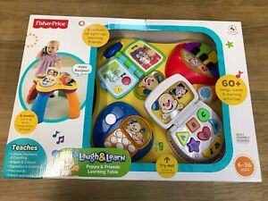Fisher Price Laugh & Learn Puppy & Friends Learning Table ~NEW ~