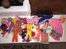 Vintage Funky 70s Mod Disco Barbie Ken Dolls Mixed Lot of Clothes Shoes Purses