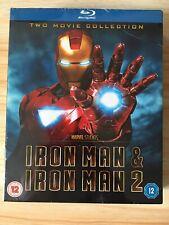 Iron Man & Iron Man 2 Blu Ray Box Set