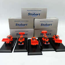Lot of 5Pcs Atlas 1:76 Eddie Stobart Rail Doosan Daewoo Mega 300 V W054 Car Red