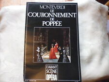 MONTEVERDI / L'AVANT-SCENE OPERA N°115. LE COURONNEMENT DE POPPEE.