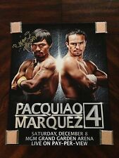 "Manny ""PACMAN"" Pacquiao Boxing Signed 16x20 Photo PSA/DNA COA"