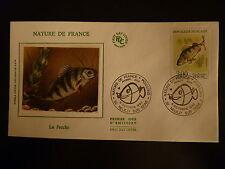 FRANCE PREMIER JOUR FDC YVERT 2664  POISSON LA PERCHE  3 F NEUILLY S/SEINE  1990