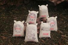 Dollhouse Miniature Food Sack Set of 6  Diorama Ranch Nativity