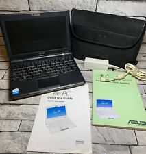 ASUS Eee PC900-BF001 Black 16GB Intel CPU 1.6GHz,1GB RAM FULLY WORKING 2 SYSTEM