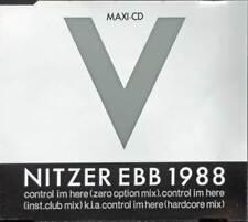 "NITZER EBB 1988 -  control im here [3""-CD]"