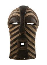 Masque Songye Kifwebe Africain RDC -rituel ethnique Art Tribal africain -1164