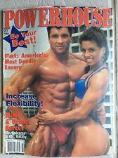 RARE Powerhouse Gym Magazine 1994 NPC IFBB BODYBUILDING MILOS SARCEV