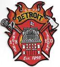 "Detroit  Engine - 18 / Ladder - 10, Michigan (3.5"" x 4"" size) fire patch"