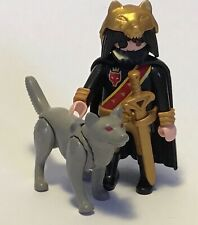Vintage Playmobil WOLF KNIGHT, medieval , castle
