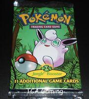 SEALED Jungle Set Booster Pack - 1999 WOTC Pokemon Cards - LIGHT