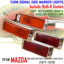 MAZDA RX3 RX-3 RX4 929 RX-4 808 FRONT REAR SIDE LIGHTS COMPLETE SET 12A