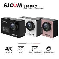 """SJCAM SJ8 PRO WIFI ORIGINALE ACTION SPORT CAMERA 2.33"""" 4K WATERPROOF DVR 170°"""