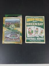 The Original Hero Decks Presents Green Bay packers Playing Cards
