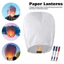Paper Floating Wishing Lantern Floating Portable Party Wedding Birthday Decor