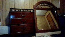 Used Divano 6 drawer dresser w/ mirror. Color: Brown
