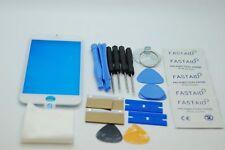 Kit de Réparation iPhone 7 Blanc Écran, Verre Avant avec Cadre Ajusté