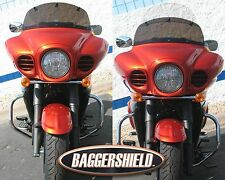 "Kawasaki Voyager Vaquero Adjustable Baggershield Windshield 11""-18"""