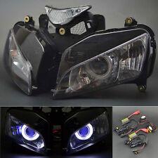 Demon Blue Angel Eye Headlight Assembly Projector for Honda CBR 1000 2004-2007