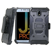 Rugged Shockproof Stand Holster Case Clip Cover Fr Samsung Galaxy J5/J7 Pro 2017