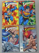 Superman Doomsday Death of TPB Lot Jurgens 4 Hunter Prey Jurgens VF/F DC Comics