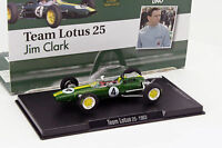 Jim Clark Lotus 25 #4 champion du monde formule 1 1963 1:43 Altaya