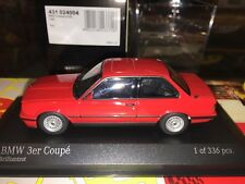 Bmw Series 3 (e30) 1989 (brilliant Red) 1/43 Minichamps 431024004